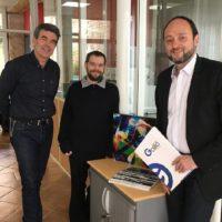Eric Michoux et Renaud Gaudillière jouent la carte de la confiance aux jeunes créateurs d'entreprise