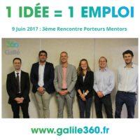 Galilé 360° : 3ème Rencontre Porteurs Mentors