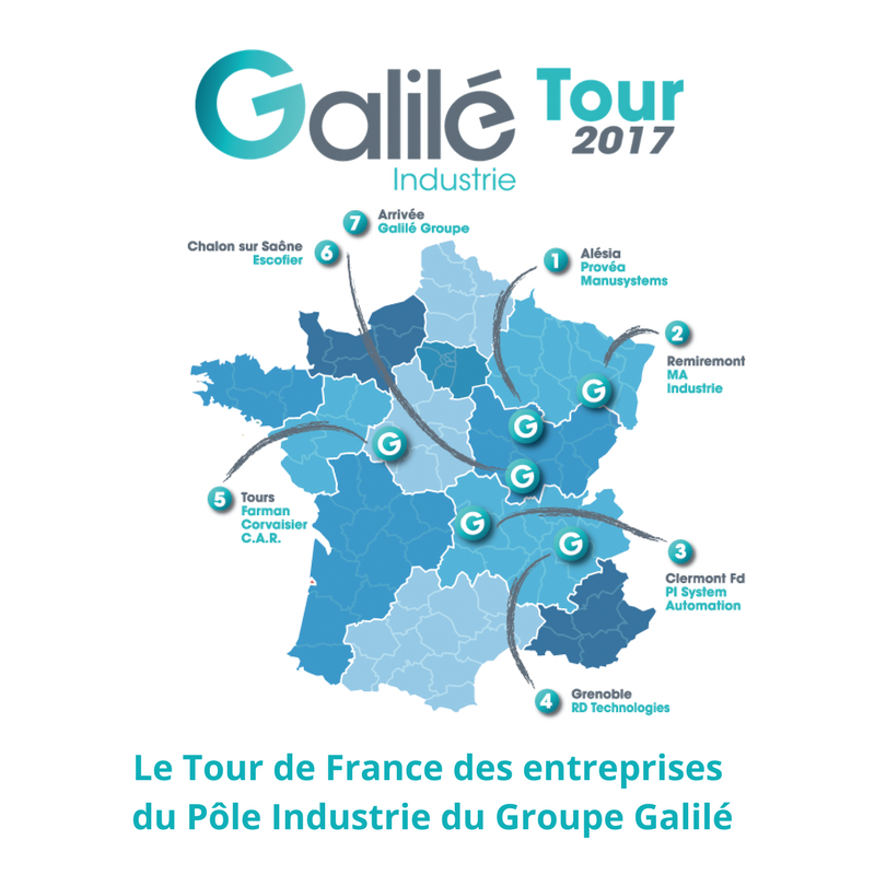 C 39 est parti pour le galil industrie tour 2017 galil for Industrie du meuble en france