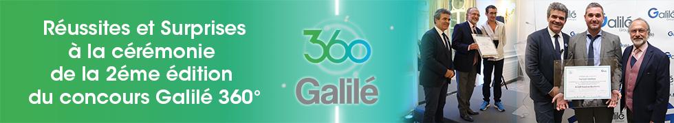 cérémonie 2éme édition galilé 360