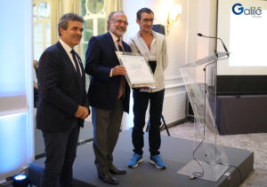 Monsieur Eric Michoux, Monsieur Olivier Dassault et Monsieur Sébastien Le Garrères - Galilé 360