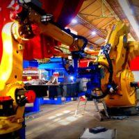 Farman, produit et développe le robot de soudage le plus capacitaire au monde !