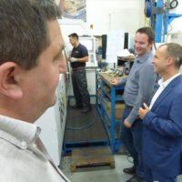 MA Industrie reçoit la visite du député Christophe Naegelen